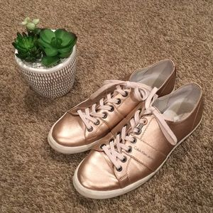 Calvin Klein Rose Gold Sneakers